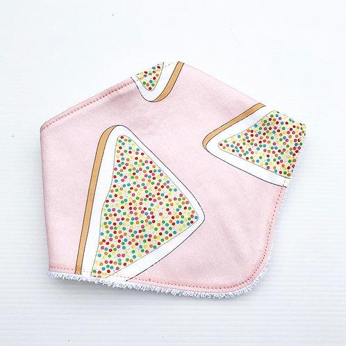 Fairybread bandana bib