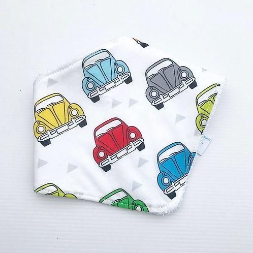 Beetle bandana bib