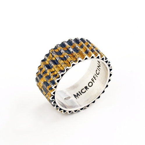 Pure gold and silver ring. Jewelry Online selling