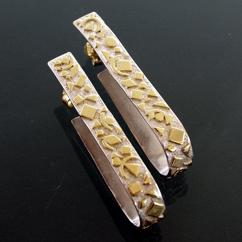 Orecchini in oro e argento. Shop online Firenze