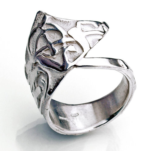 Sterling silver ring. Jewelry sale online