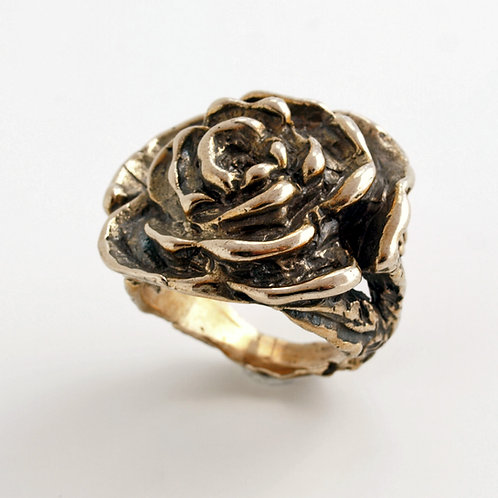 Bronze ring. Florence Jewelry craft shop online
