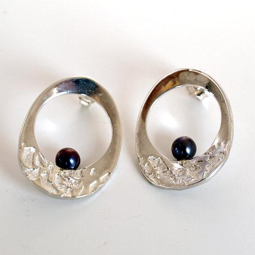 Sterling Silver earrings. Florence Jewellery craft shop online