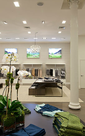 SoHo retail store, Modern NYC clothing showroom