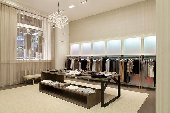 SoHo retail clothing store, Modern NYC clothing showroom