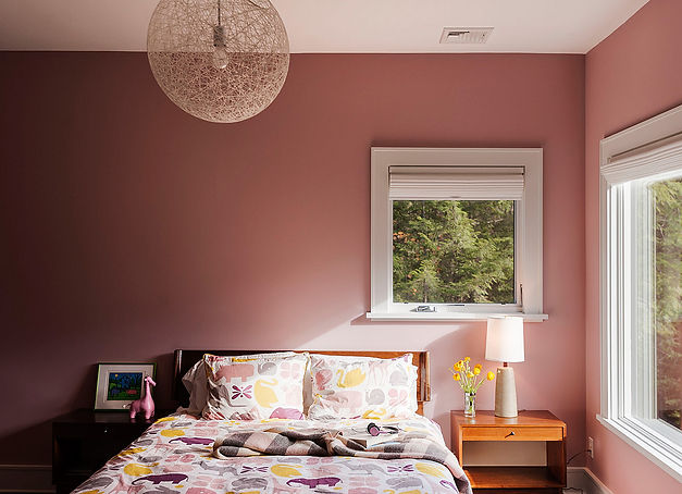 Design Within Reach Random Pendant, sophisticated pink, pink bedroom, girl's bedroom