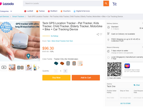 We are now available on Lazada Singapore website!