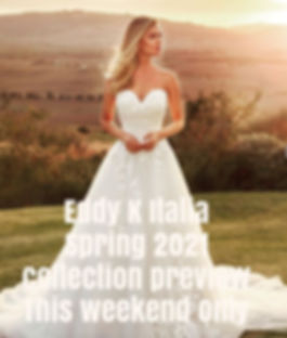 Preview the 2021 collection from Eddy K