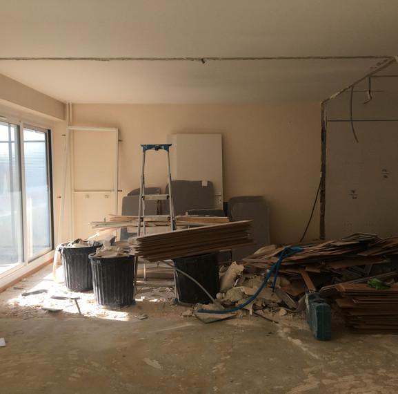 Photographie - En cours de démolition
