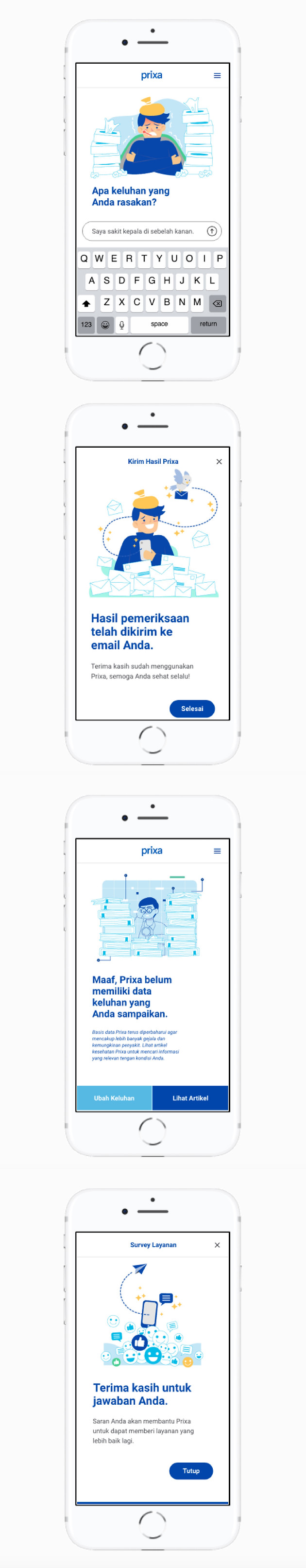 Prixa mobile web