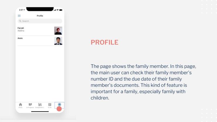 Startnieri screen profile