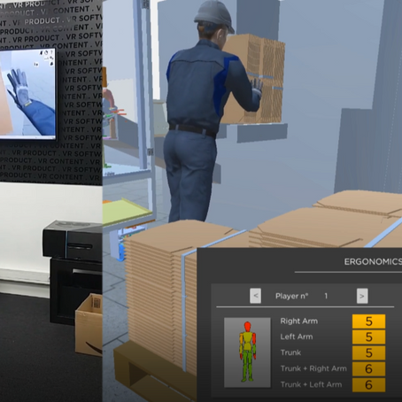 How can ergonomic simulation improve work conditions?