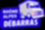 logo Debarras RA, Rhone Ain Isère Savoie Haute-Savoie Loire  Drome Ardèche, à Lyon, Grenoble, Villeurbanne, Annecy, Chambéry, Saint-Étienne, Valence, Annonay, Saint Martin d'Hères