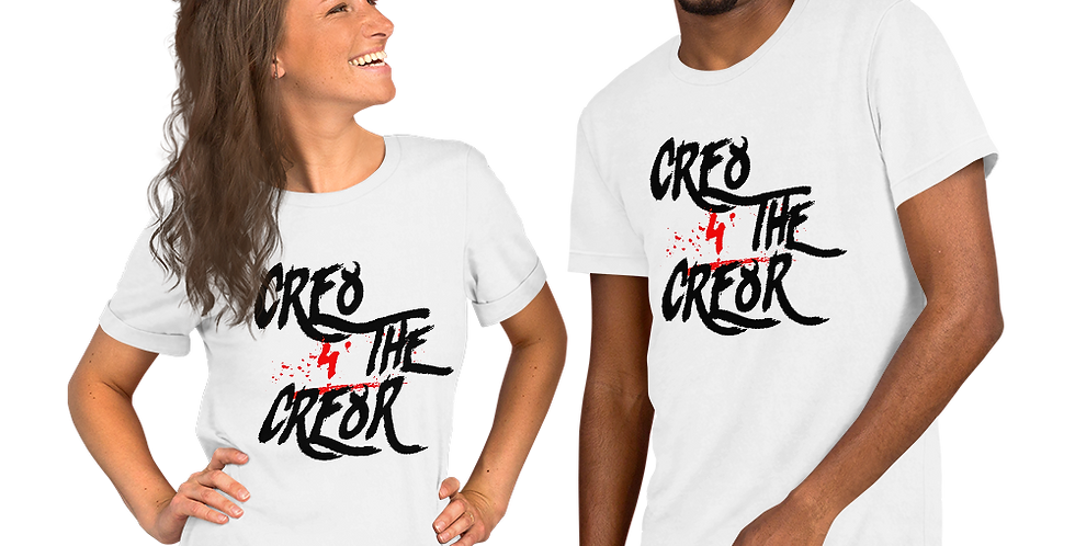 Cre8 4 the Cre8r | Short-Sleeve Unisex T-Shirt