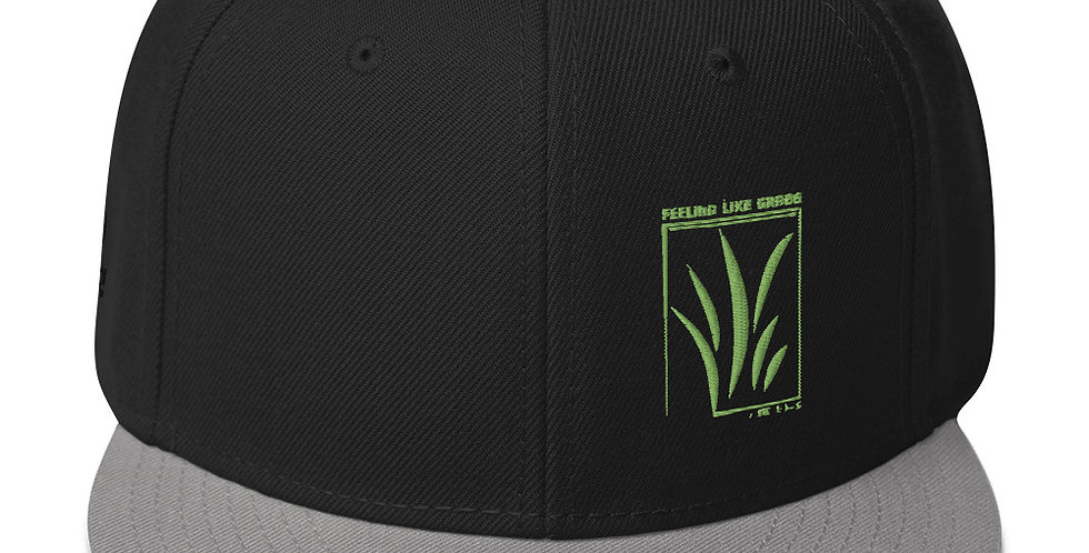 Feeling Like Grass Snapback (W/FREE SONG & LYRICS)