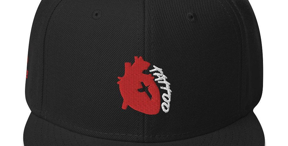 Tattoo (Solid Heart) Snapback Hat
