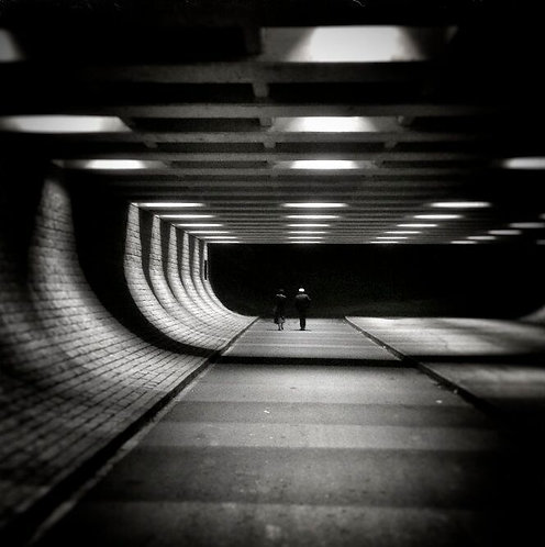 Tunnel, (6x6inch), Colin Davison