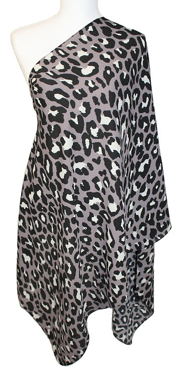 The Print Collection - Gray Leopard