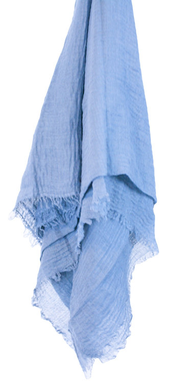 The Crinkle Collection - Sky Blue