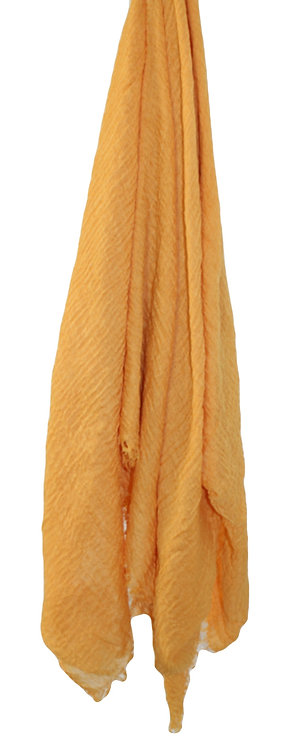 The Crinkle Collection - Mustard