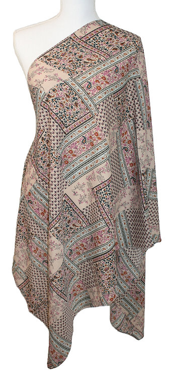 The Print Collection - Pink Aztec