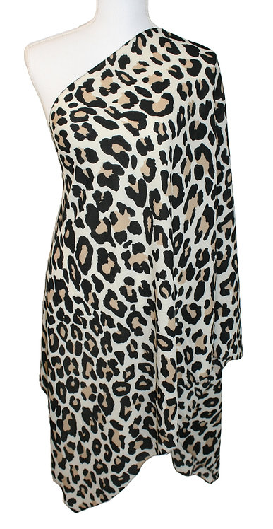 The Print Collection - Beige Leopard