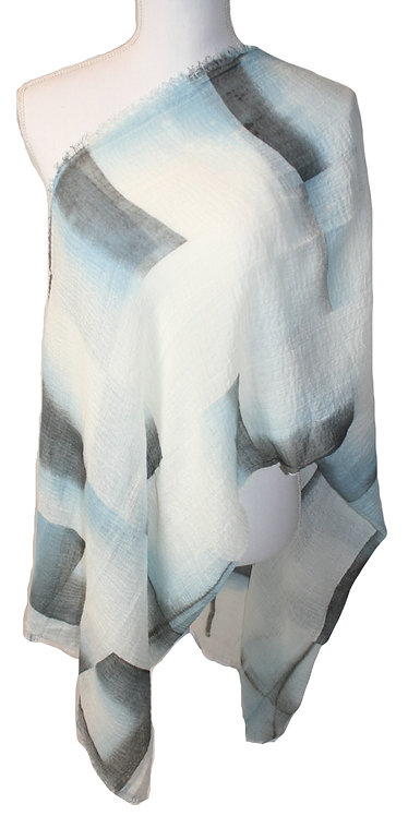 The Ombre Collection - Blue Damasco