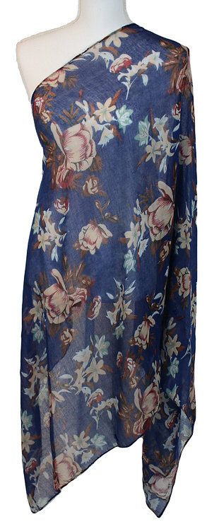 The Floral Collection - Blue