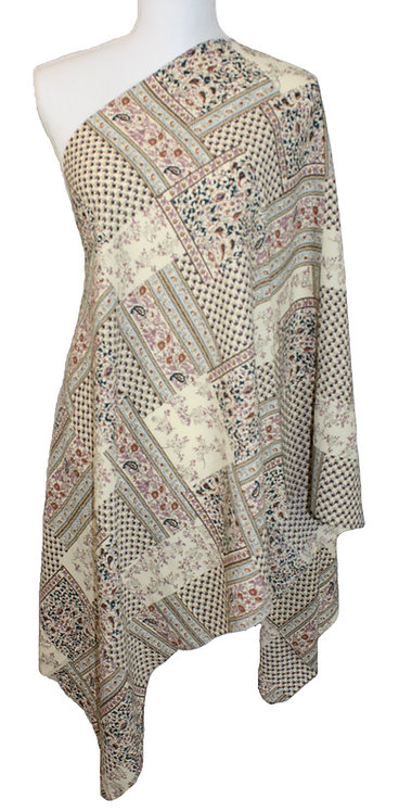 The Print Collection - Creme Aztec