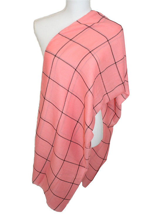 The Plaid Collection - Coral