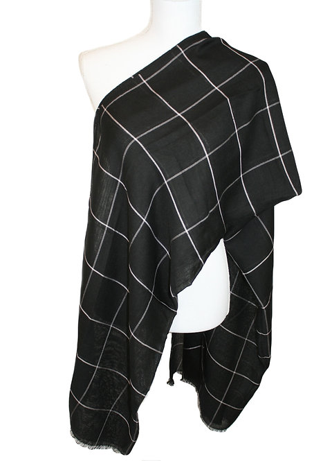 The Plaid Collection - Charcoal