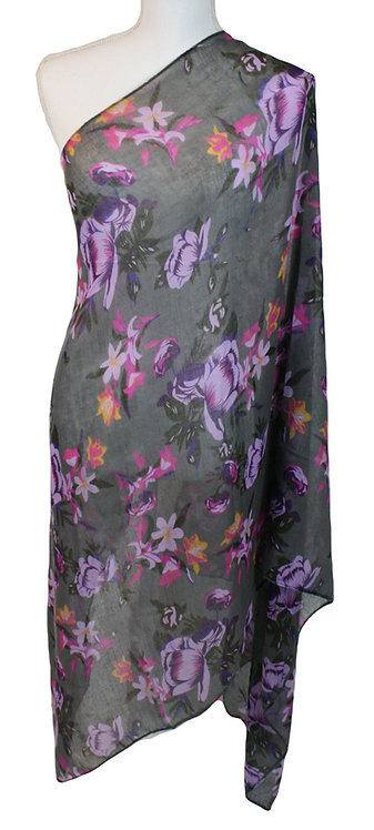 The Floral Collection - Gray