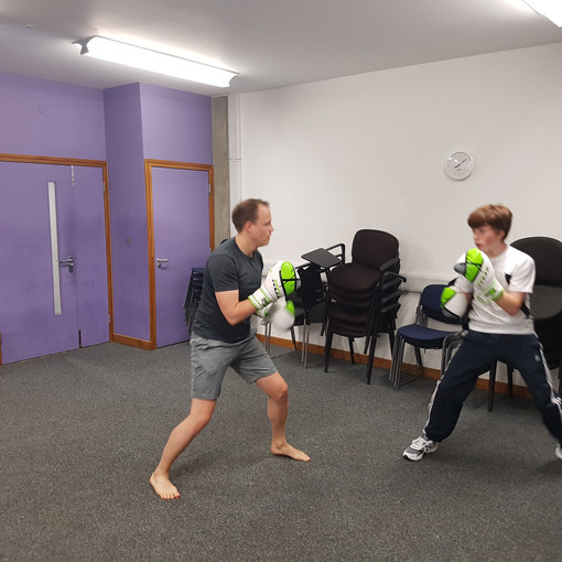 Russell Square sparring