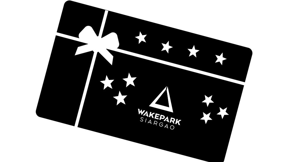 Gift Card 'Week Pass' Wakeboard