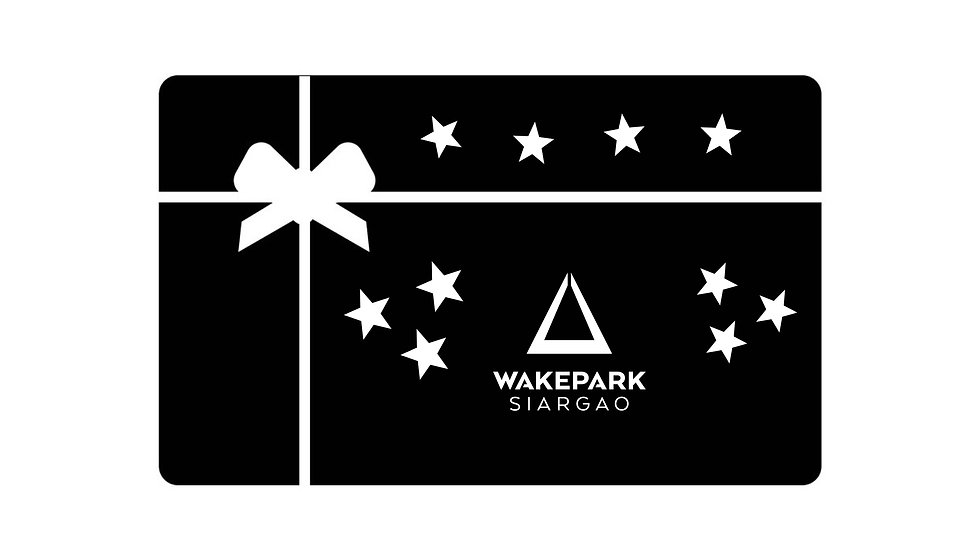 Gift Card Single Wakeboard Session