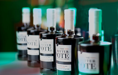 The_Bitter_Note_line_of_bottles.jpg