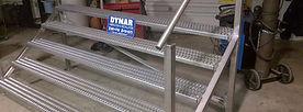 Dymar Custom Stainless Steel  Stairs