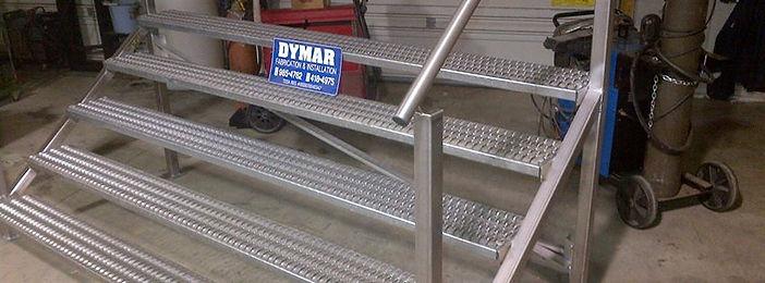 Dymar Custom Stainless Stairs
