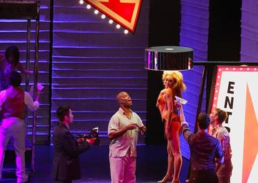 Ashley as Yvonne in Miss Saigon