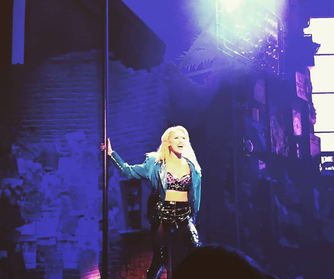 Ashley as Sherrie in Rock of Ages