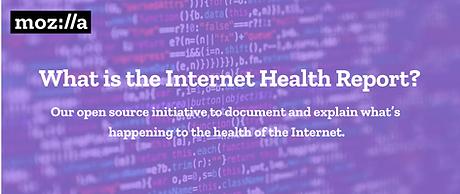 Internet Health Report Infographic