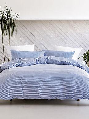 Oria Bay Blue Duvet Cover Set