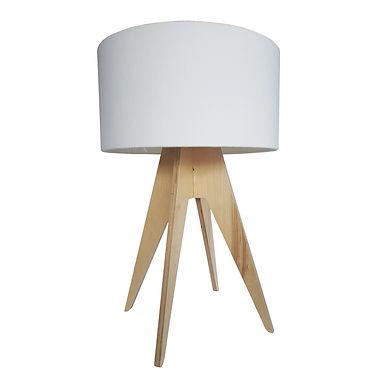 Quadtro Table Lamp - Birch Natural