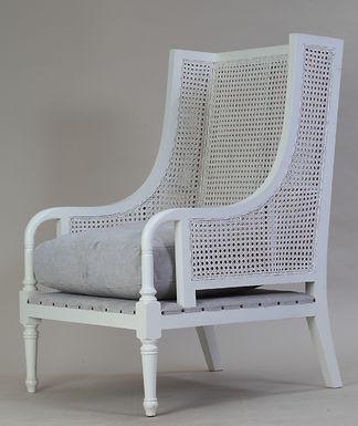 Plantation 04 Chair Painted w/Cushion