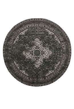 Descent Round Rug in Griffin
