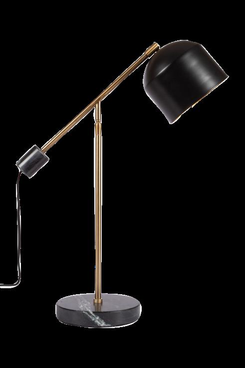 Vogue Desk Lamp in Black