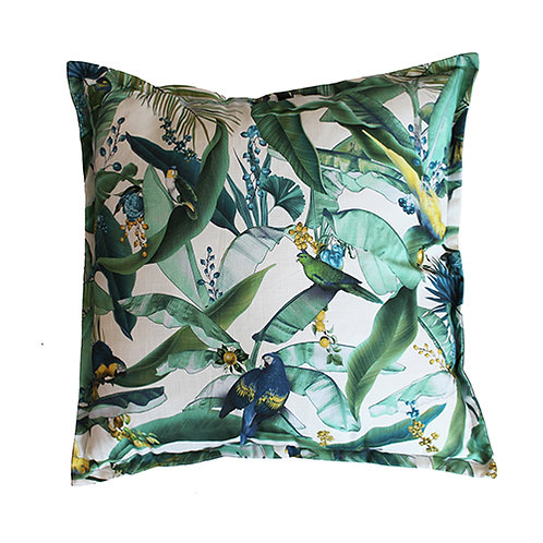 Macaw Jade Scatter Cushion