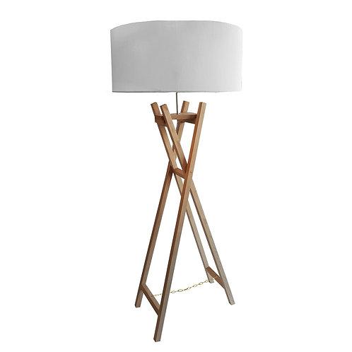Easle Floor Lamp - Oak