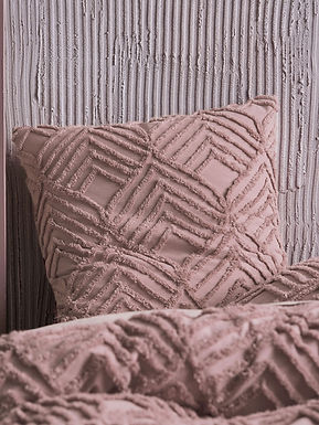 Romona Blush Duvet Cover Set