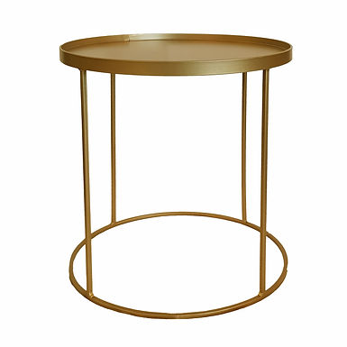 Drinks Side Table (Gold Bronze)